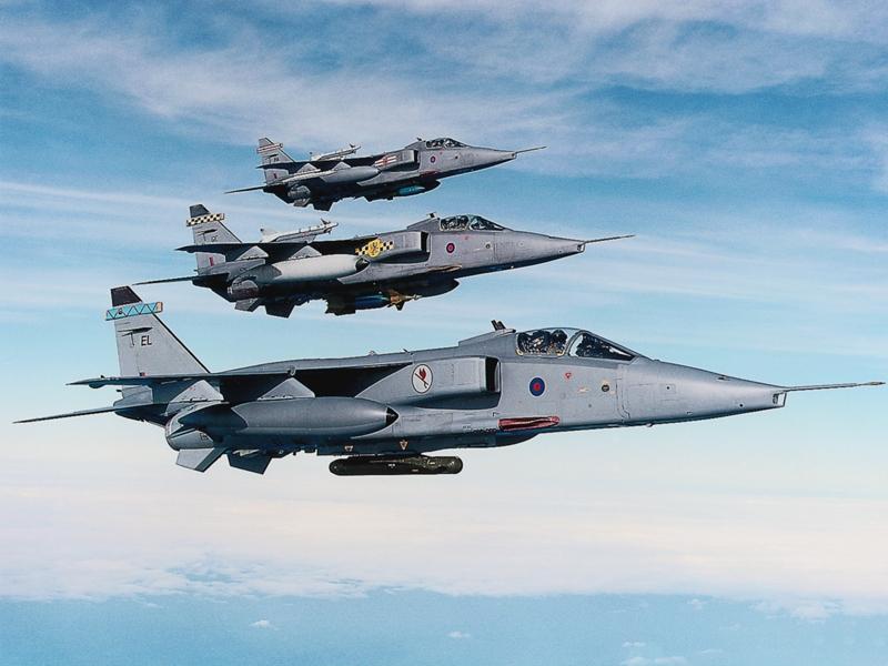 MCDONNELL-DOUGLAS F/A-18 HORNET  285403Sepecat_Jaguar_britannique