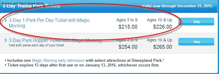 Aide pour réserver tickets Disneyland Resort septembre 2014 286842TarifDisney