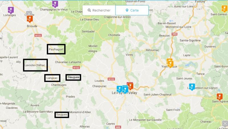 [Haute Loire, Auvergne] Quelques bornes sont dans les tuyaux 287074491