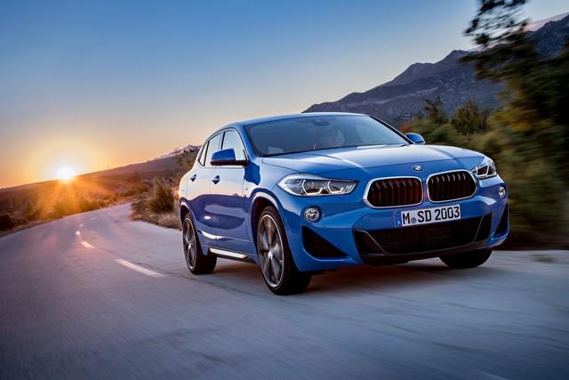 La nouvelle BMW X2 Silhouette élégante, dynamique exceptionnelle 294267P90278928highResthebrandnewbmwx2