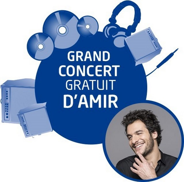 Le Grand Pique-Nique Dacia 2017 accueillera l'artiste Amir pour un grand concert gratuit 2943038871116