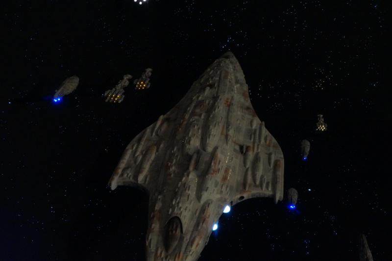 STAR WARS : Diorama Flotte rebelle - Page 6 295139DSC01269