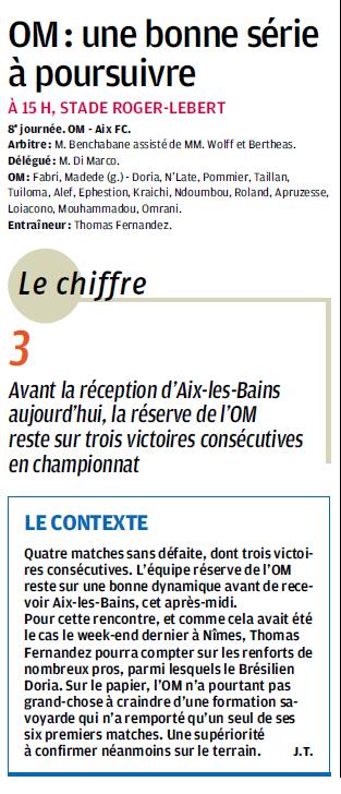 MATCHS DE LA RESERVE OLYMPIENNE - Page 15 296340325