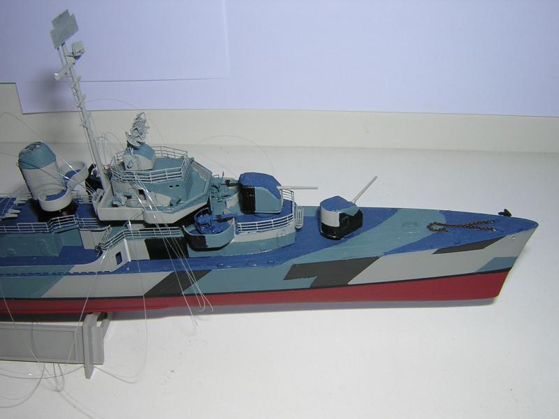 DD- 541 USS YARNELL 1/350, base Trumpeter 297494DSCN7078