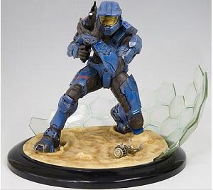 Halo 3 statues Kotobukiya 297830koto2bleu