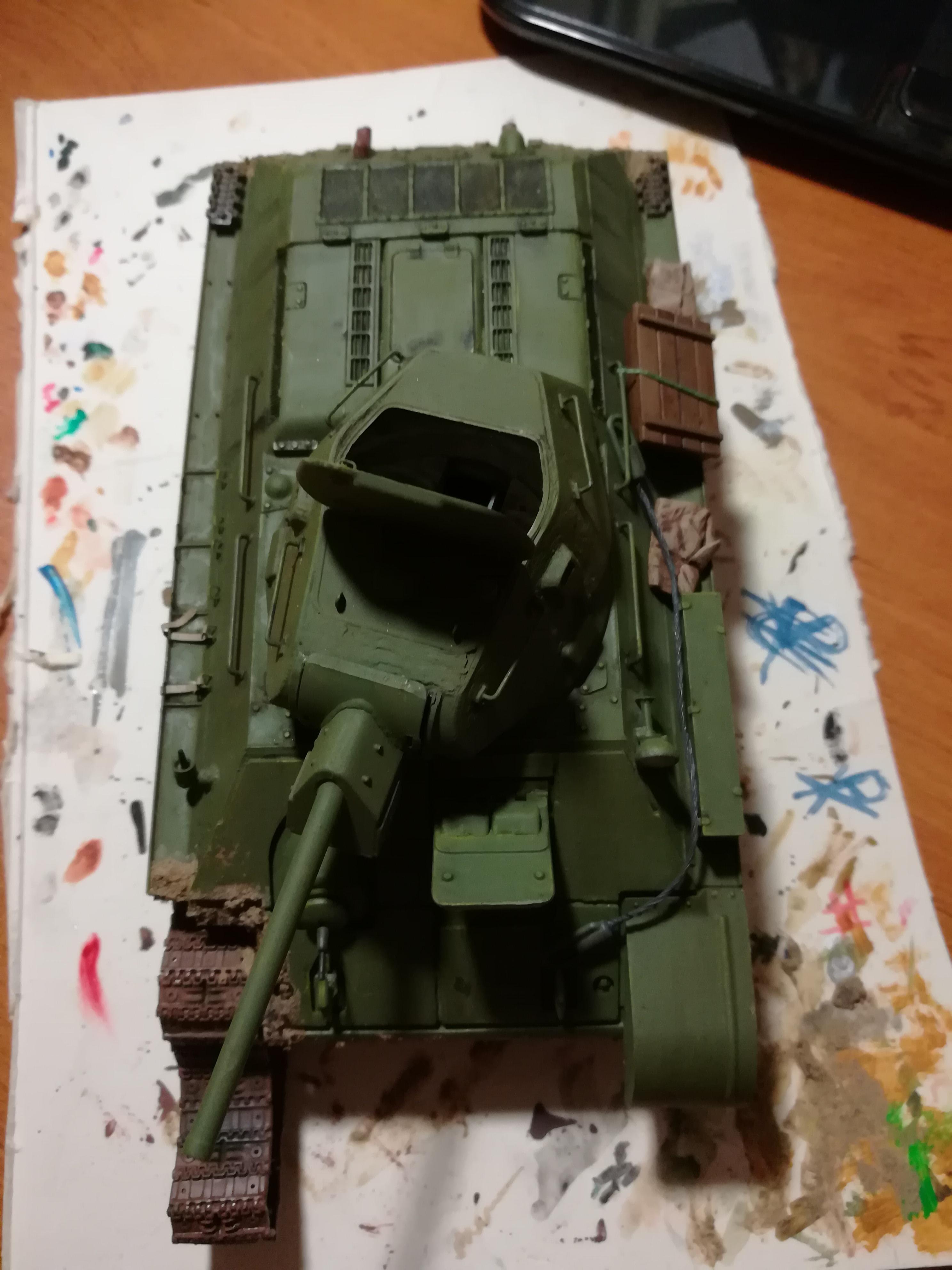 Front de l'Est, 1942 - T34 et Wehrmacht - Zvezda - 1/35 299478IMG20171112180828