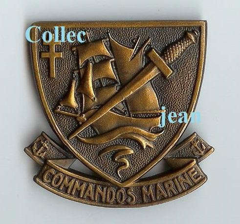 Identification insigne commandos marine  299726002