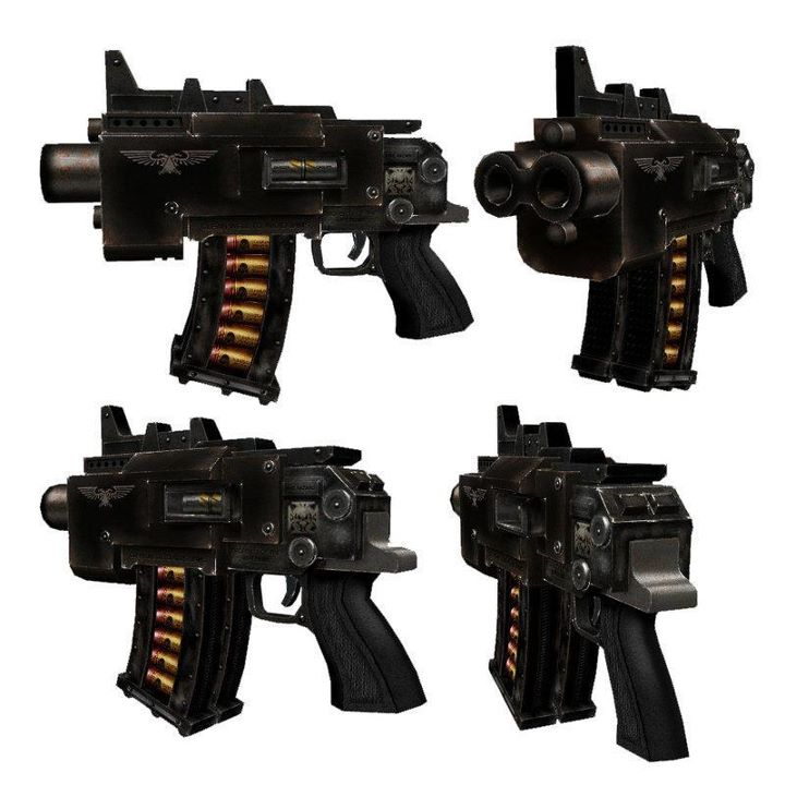 L'Armurerie W40K :  armes pour les grands enfants ! 301692bolterblack