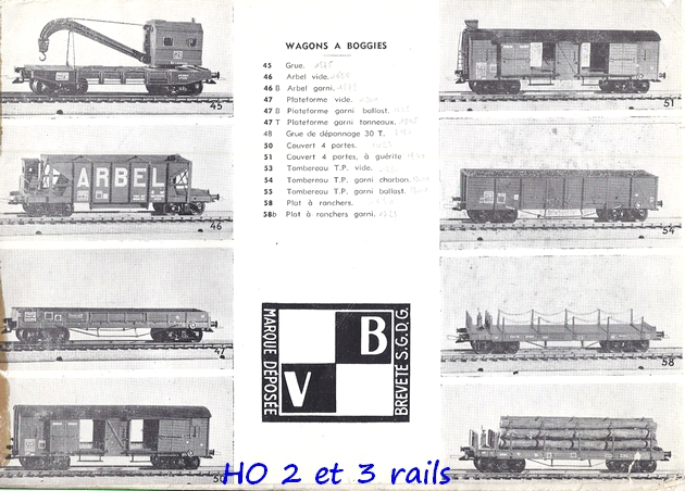 Catalogues 1950 et 1954 couverture photo (extraits) 308257VBcatalogue19545R