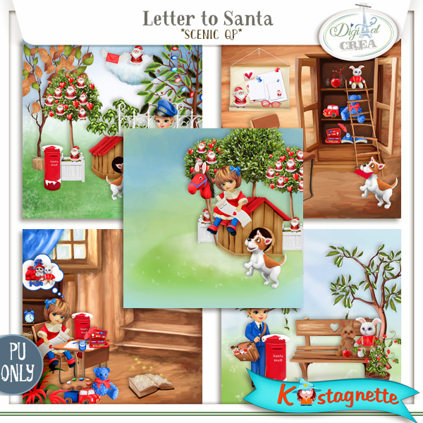 Collection Letter to Santa de Kastagnette + Mega Kit Freebie 308626434