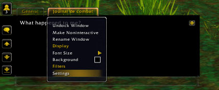 [Le Guide partie 7] Raccourcis / Interface / Macros / Addons 308725Journalcombat0
