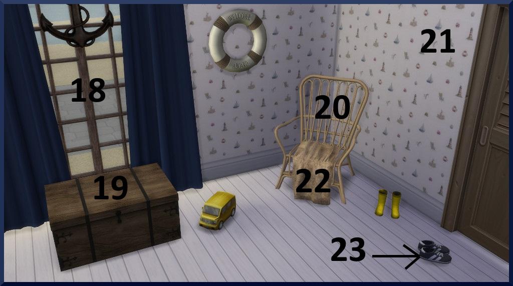 Vacances au bord de la mer 310315Chambreenfants1vuedtaille3avecnumros