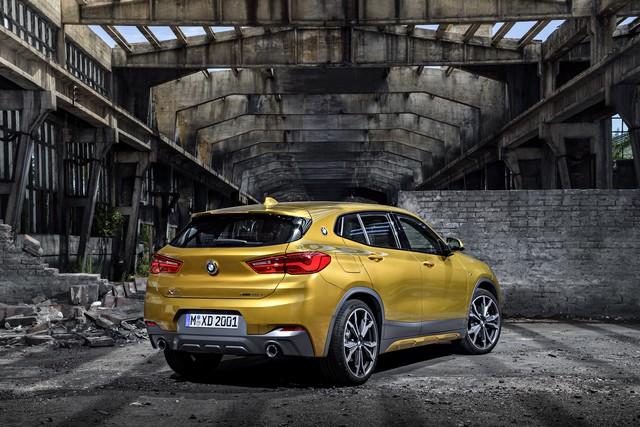 La nouvelle BMW X2 Silhouette élégante, dynamique exceptionnelle 310997P90278958highResthebrandnewbmwx2