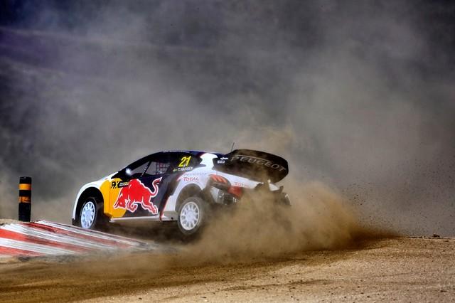 Sébastien Loeb et la PEUGEOT 208 WRX décrochent une belle deuxième place à Montalegre 31130158fbb488cfe31