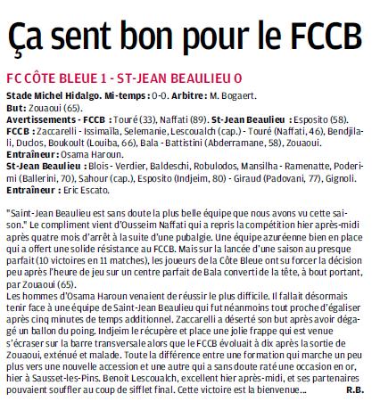 FC COTE BLEUE .. CARRY LE ROUET SAUSSET LES PINS / CLUB VILLES JOUEURS ET COACHS DH 312278193A