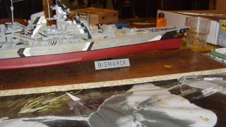 Mon Bismark au 1/400 par golmar62 - Heller 312462SNV30524JPG