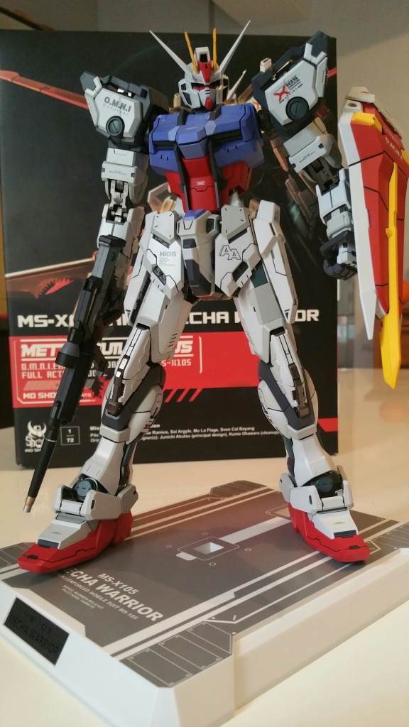 Review/Edito : Strike Gundam Metal Build 1/72 by Moshow la leçon Chinoise donnée a Bandai  3135062016100614333811