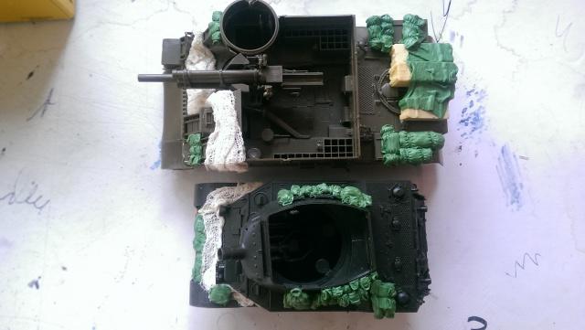 M7 PRIEST Italeri et M8 Howitzer Tamiya 1/35 314169canvas2