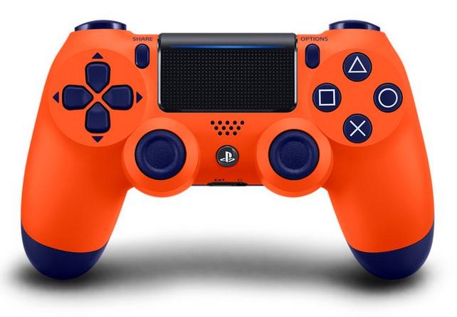 Dualshock 4 Orange et Bleue 315879manette01