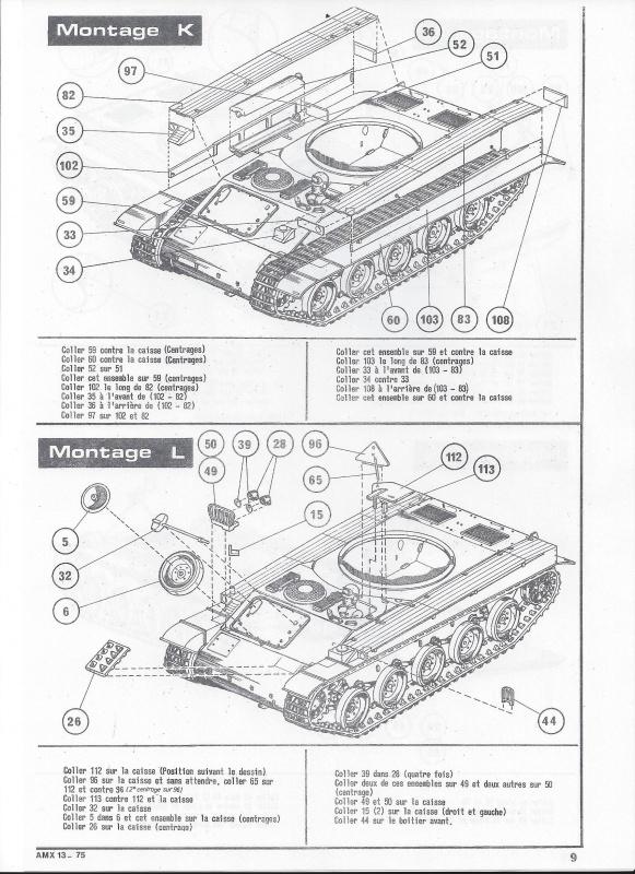 AMX 13 canon de 75 1/35ème Réf L 784 316245AMX1375784010Heller135