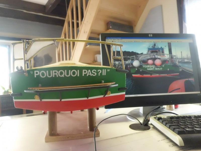 POURQUOI PAS II canot 17.60m SNSM Saint-Malo sur plan au 1/20° - Page 3 323363CIMG2800