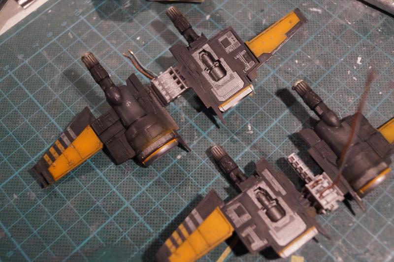 "X-Wing ""Resistance"" T-70 Bandaï 1/72 327272DSC01434"