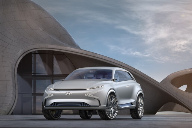 Hyundai a dévoilé son concept Fuel Cell nouvelle génération au salon de l'automobile de Genève 331370FEFuelCellConcept3