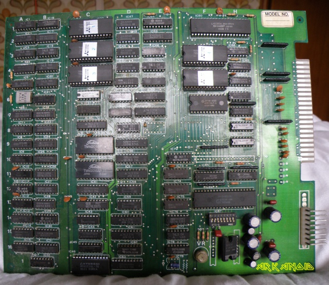 Recherche PINOUT PCB Arkanoid Bootleg 333023PC081755