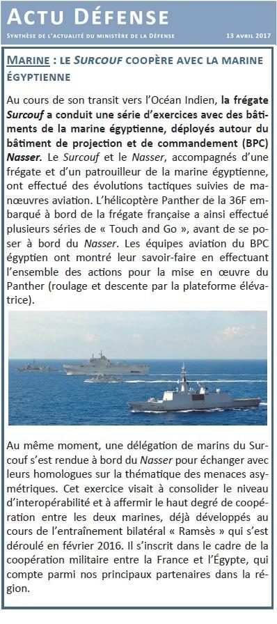 SURCOUF F711 (FREGATE) - Page 2 334221Actu