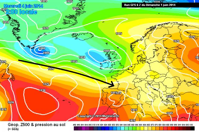 Tendance météo à court, moyen et long terme à compter du 1/06/2014 pour la France - Page 3 335769gfs066