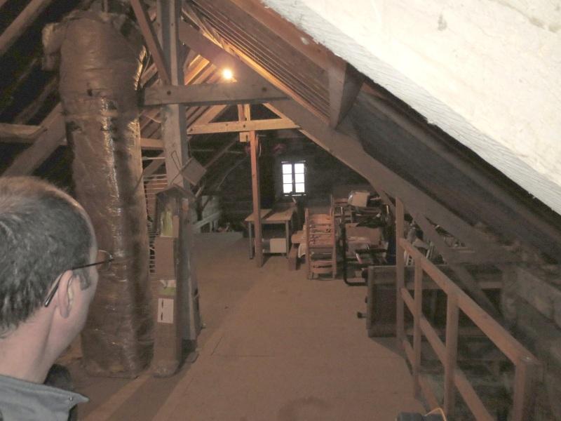 Faire d'un grand garage un atelier !  336399mezzanine