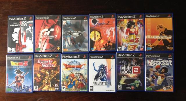 [Vds] Lot de 5 jeux ps2 pal fr(legaia 2,dragon quest,final fantasyXII) 336414image237