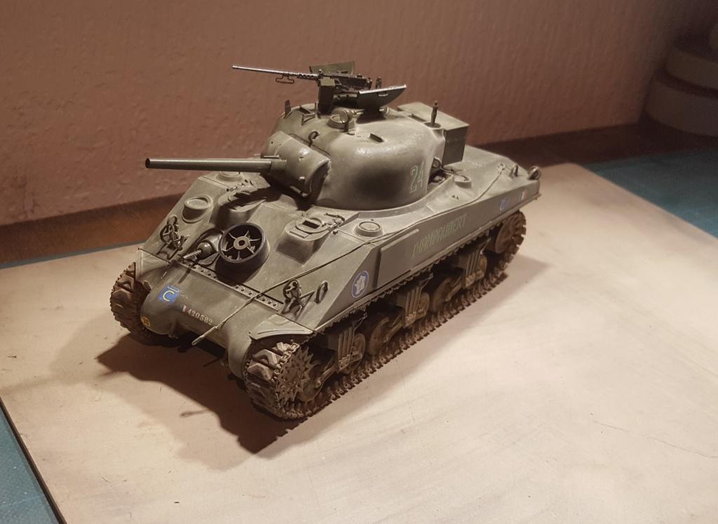 Sherman 1/35ème  Asuka models 33657420170317202757
