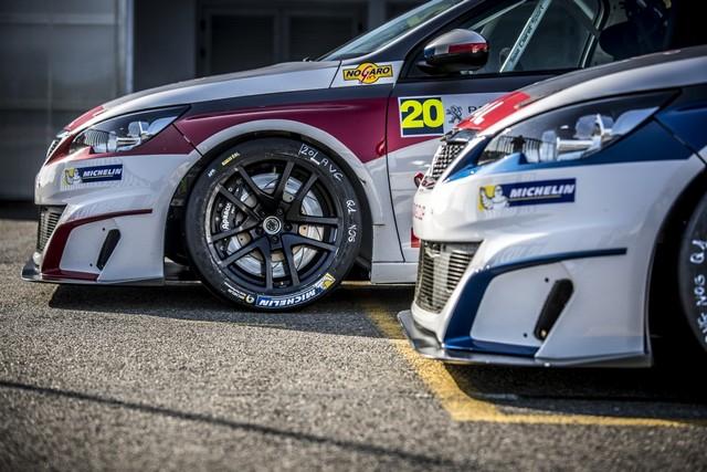 Carton Plein Pour La Peugeot 308 Racing Cup À Nogaro 342110FreresClairetvoitures