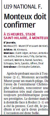 Football Club Féminin Monteux Vaucluse et Monteux foot seniors et jeunes  342710Copie2de11