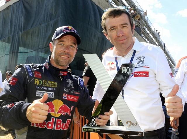 Sébastien Loeb et la PEUGEOT 208 WRX décrochent une belle deuxième place à Montalegre 34271558fce19d62dc2
