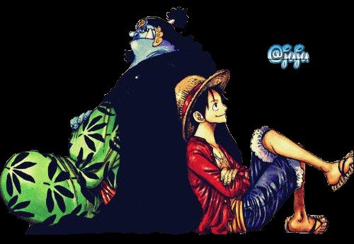 One Piece 343759jinbeietluffy