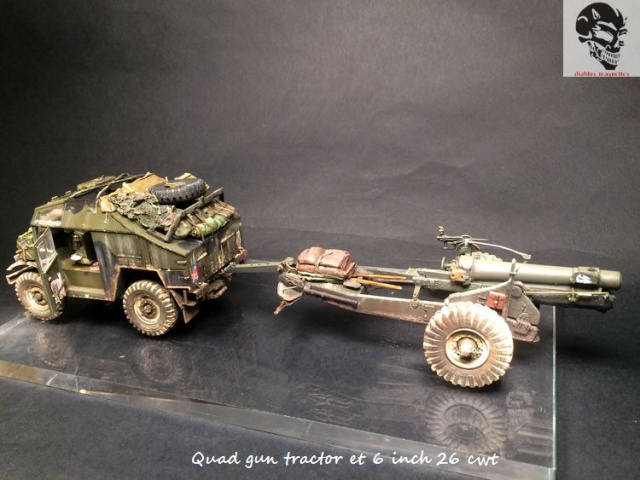Quad gun tractor et 6 inch 26 CWT en Normandie 1/35 346143IMG4838