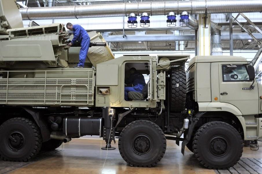 # روسيا ... صور لمنظومة Pantsir S-1 الجزائرية ... أثناء تصنيعها # 346571NFKMQxpPv4M