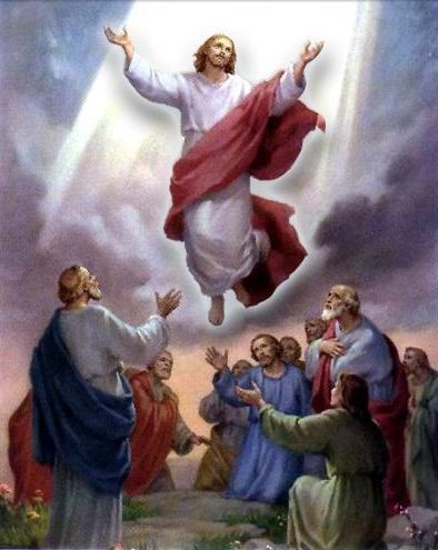 *L'ascension des personnages dans l'histoire des religions oui mais où et comment? - Page 4 347401ascensionJsus