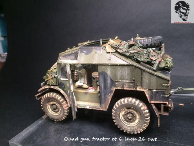 Quad gun tractor et 6 inch 26 CWT en Normandie 1/35 348126IMG4840