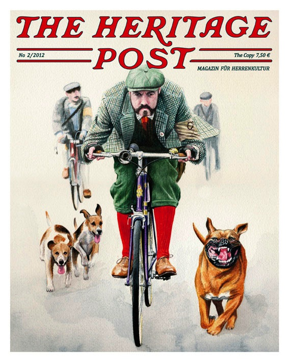 Le Magazin pour homme Heritage Post 348439theheritagepost002cover