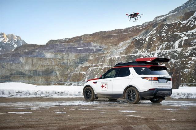 Project Hero, une version unique du nouveau Land Rover Discovery pour la Croix Rouge autrichienne  348700image4