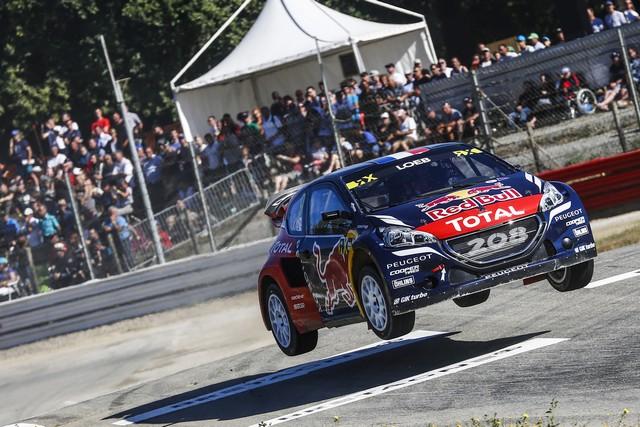 Rallycross - Beau podium de Sébastien Loeb et la PEUGEOT 208 WRX à domicile 34946157cb0663959d1