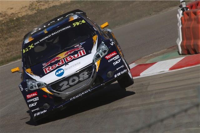 Rallycross - Beau podium de Sébastien Loeb et la PEUGEOT 208 WRX à domicile 35630157cb0b3e058bd
