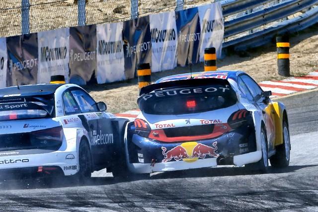 Sébastien Loeb et la PEUGEOT 208 WRX décrochent une belle deuxième place à Montalegre 35856058fc8b490e3db