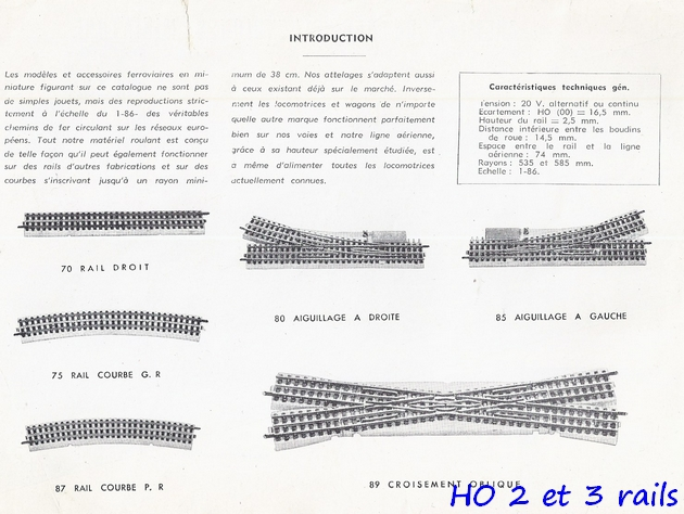 Catalogues 1950 et 1954 couverture photo (extraits) 358866VBcatalogue19541R