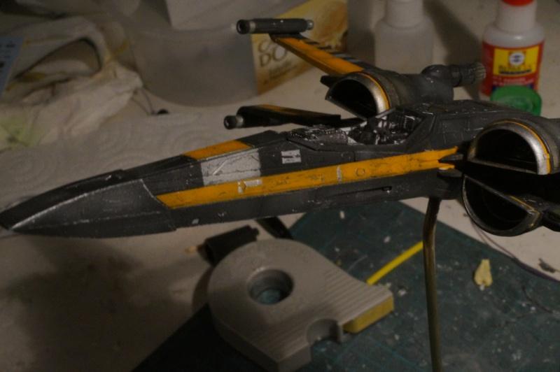 "X-Wing ""Resistance"" T-70 Bandaï 1/72 359468DSC01474"