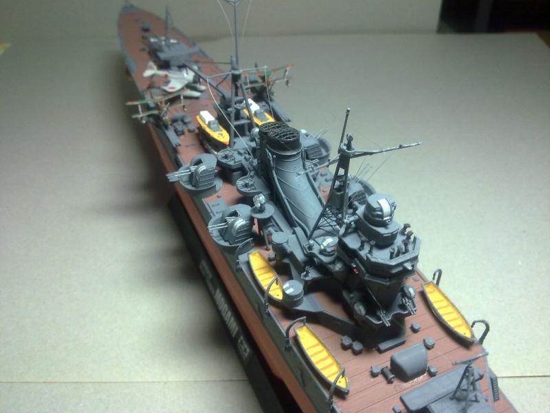 Croiseur lourd Mogami au 1/350 ème TAMIYA 360186190120111120