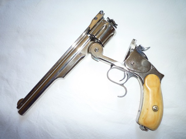 smith et wesson 44 russian n°3 third model 360395007a